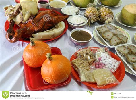 new year celebration food various food for new year culture royalty free