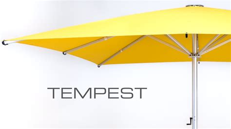 Tempest Commercial Outdoor Umbrella   Commercial Sun Umbrellas