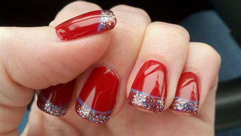 christmas pattern nails christmas nail art