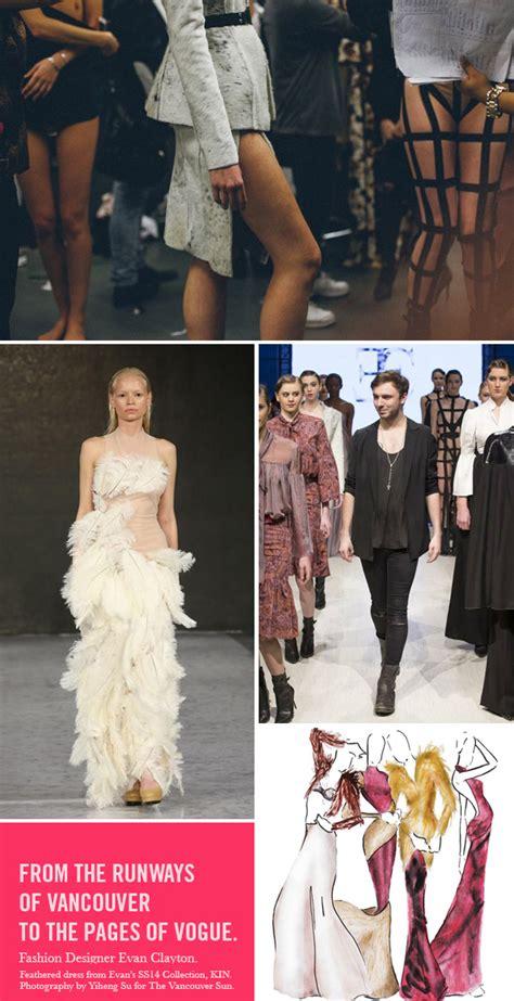 fashion design graduate programs blanche macdonald fashion design graduate evan clayton