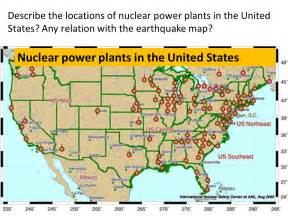 map of nuclear power plants in the united states benchmark 1 reviewer eric angat ppt