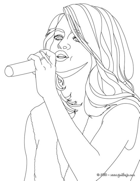 Selena Gomez Coloring Pages Coloring Pages Of Selena Gomez