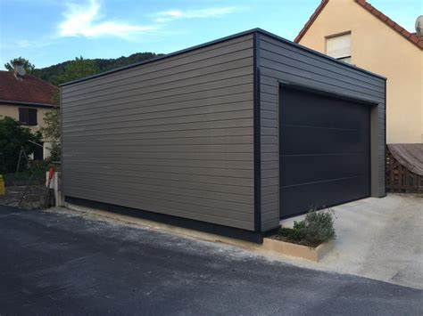 garage ossature bois en kit garage ossature bois sur mesure de qualit 233 garage bois