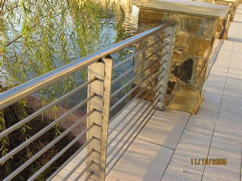 Steel Handrail Systems Metal Craft Of Pensacola Inc 850 478 8333 Metal Craft Of
