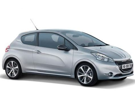 peugeot compact car peugeot 208 compact car officially unveiled