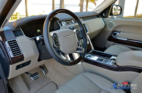 2015 range rover dashboard 2015 range rover autobiography lwb review test drive