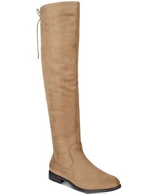 xoxo boots xoxo trish the knee boots boots shoes macy s