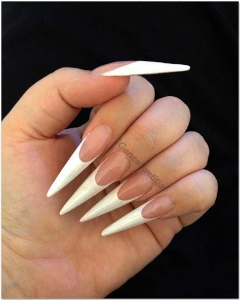 le pour les ongles stillets blanche les ongles de moah