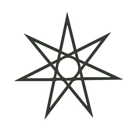 6 point star tattoo the seven pointed symbols and meanings