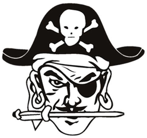 Pirate Mascot Clipart powell county schools