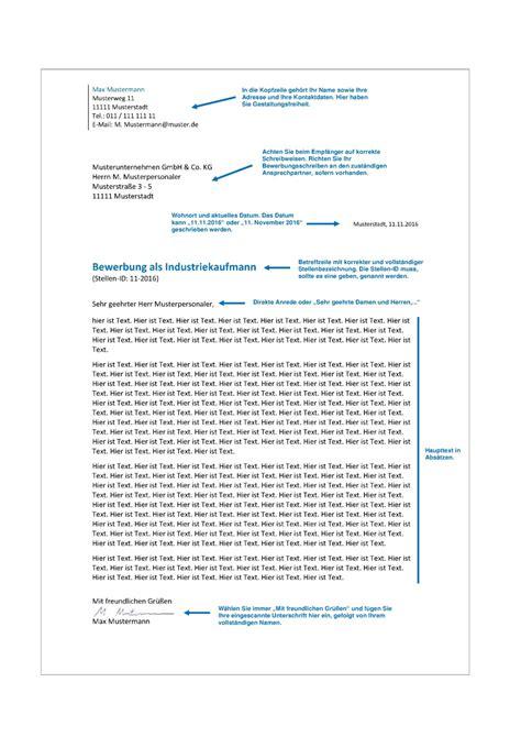 Bewerbung Format Absatz Das Bewerbungsanschreiben Inhalt Aufbau Formulierungen