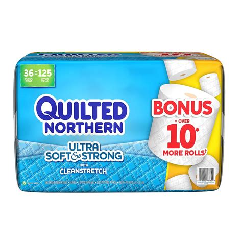 Who Makes Northern Toilet Paper - quilted northern ultra soft strong toilet paper white