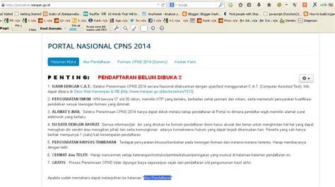 format surat lamaran sscn bkn pendaftaran cpns melalui web panselnas menpan go id sscn