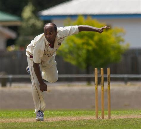 swing king cricket ball indian born paceman delivers for shamrocks the examiner