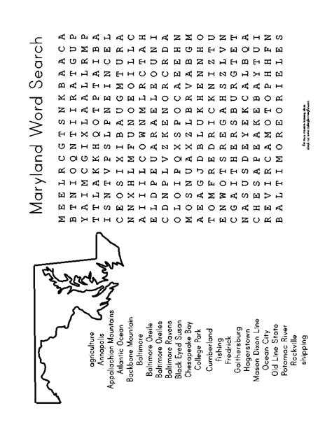Lookup Maryland 100 Day Activities All About Me