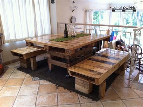 Furniture Made Out Of Wood Pallets by Dining Table Out Of Pallets Wood Pallet Ideas Recycled Upcycled Pallets Furniture Projects