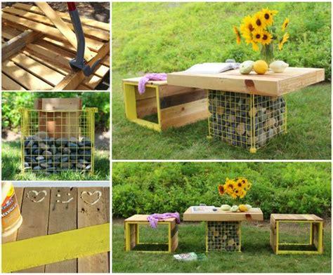 diy pallet patio furniture penmie bee