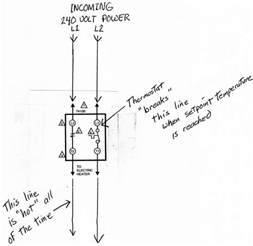 honeywell line voltage thermostat wiring diagram honeywell get free image about wiring diagram