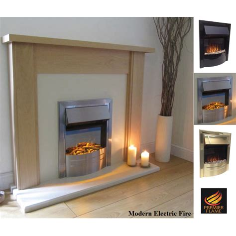 modern electric fireplaces uk premierflame modern electric