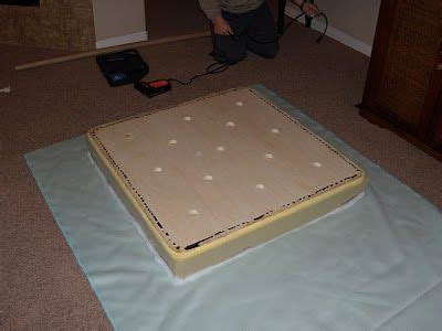 reupholster ottoman yourself how to reupholster an ottoman and how to make a tufted