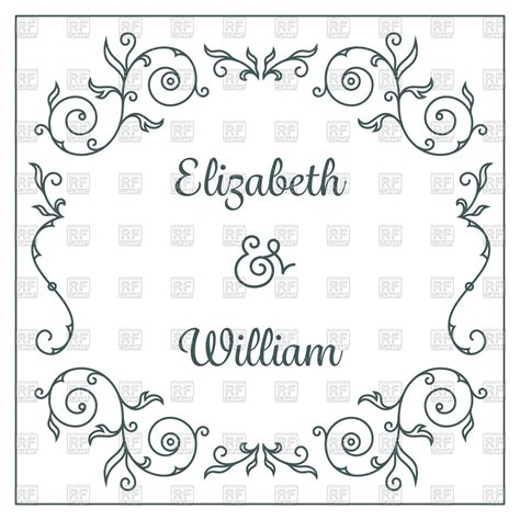 Wedding Invitation Letter Vector Marriage Invitation Card Clipart 85