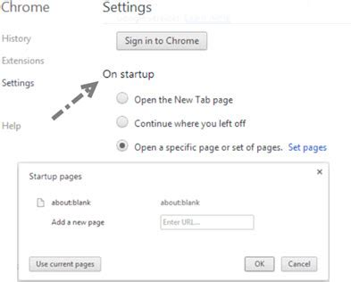 change home page in explorer chrome firefox opera