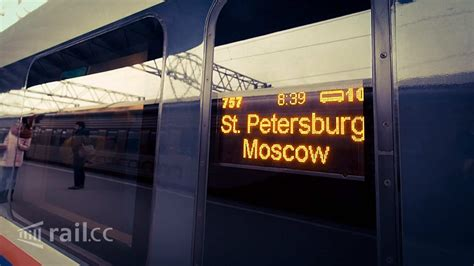 moscow to st petersburg train from saint petersburg to moscow by sapsan high speed train
