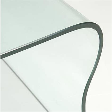 curved coffee table curved glass coffee table ct041 out of stock abode