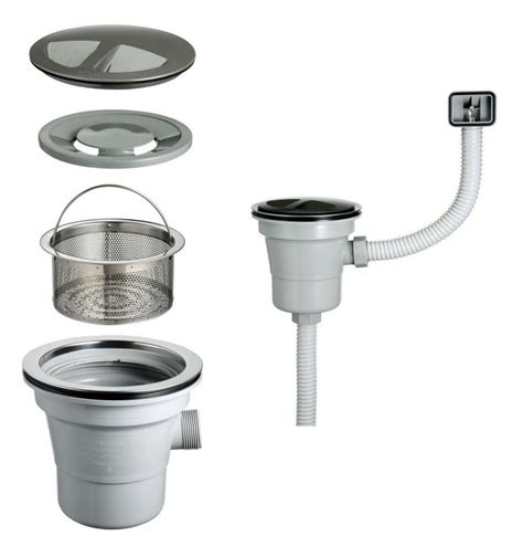 kitchen sink drain large size drain pu 001 from cosmo