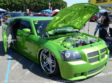 green dodge magnum the top ten dodge magnum show cars from lx festival