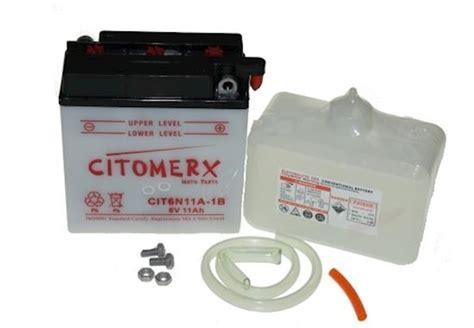 Motorrad Batterie 6v 11ah by Batterie Motorradbatterie 6n11a 1b 6v 11ah Mz Muz Es 250