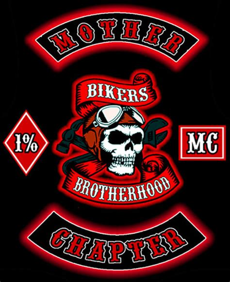 Bali United Sport Kaos biker patches cuts on motorcycle clubs