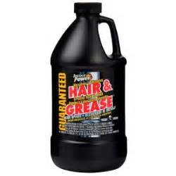 What Is The Best Drain Cleaner For Kitchen Sink Instant Power 67 6 Oz Hair And Grease Drain Opener 1970 The Home Depot