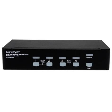 Switch Kvm 4 port high res usb dvi audio kvm switch kvm switches startech