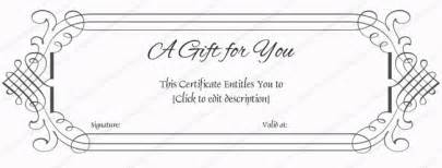 simple gift certificate template 25 best ideas about gift certificate templates on