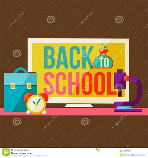 back to school design template back to school design template stock vector image 42783438