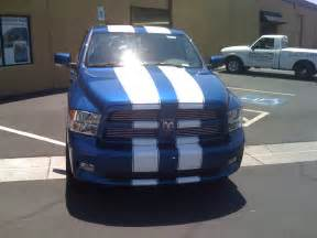 Dodge Ram 1500 Racing Stripes 2009 2015 Dodge Ram Truck Vinyl Graphics Stripes Decal