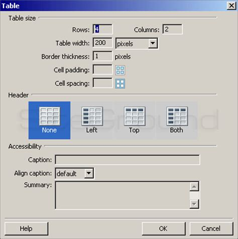 format html code in dreamweaver how to create tables with dreamweaver tutorial
