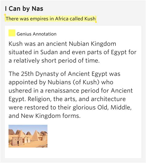 nas i can lyrics there was empires in africa called kush i can by nas
