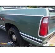 1977 Dodge D Series Truck D100 Club Cab Adventurer Jade