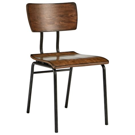 magnolia home joanna gaines industrial metal wood draftman chair knight furniture mattress dining side chairs