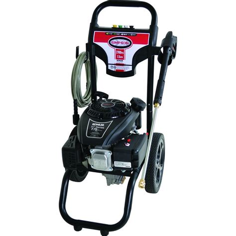 megashot 2700 psi 2 3 gpm gas pressure washer