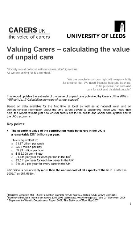 carers allowance section northern ireland assembly committee for social