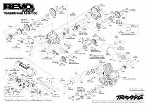 5309 transmission exploded view revo 3 3 w tqi 2 4ghz base traxxas