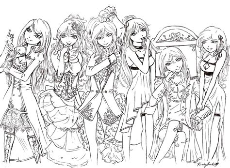 vocaloid coloring pages coloring pages vocaloid