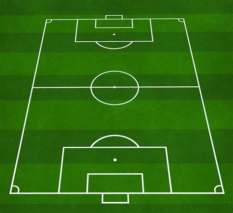 3d soccer pitch powerpoint template football soccer pitch digital by modern abstract