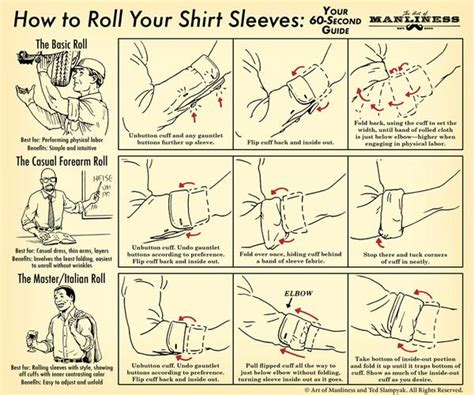 Kemeja Square Army Black White how to roll your shirt sleeves your 60 second visual