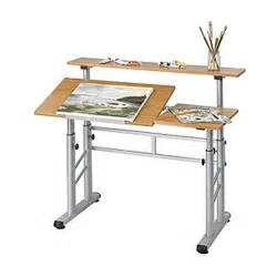 Drafting Table Adjustable Height Adjustable Height Split Level Drafting Table