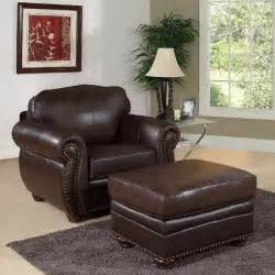 furniture leather club chair and ottoman interior decoration and home design blog