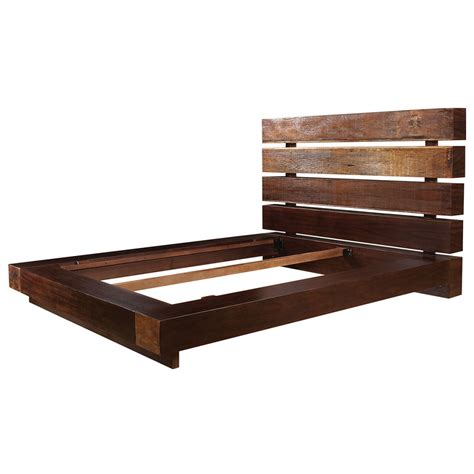 Wood King Bed Frame Diy Platform Bed Frame With Drawers Furniture